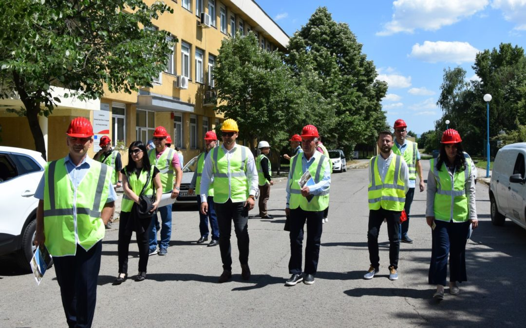 Посещение на експерти от Албания и Косово по проект Бенчмаркинг