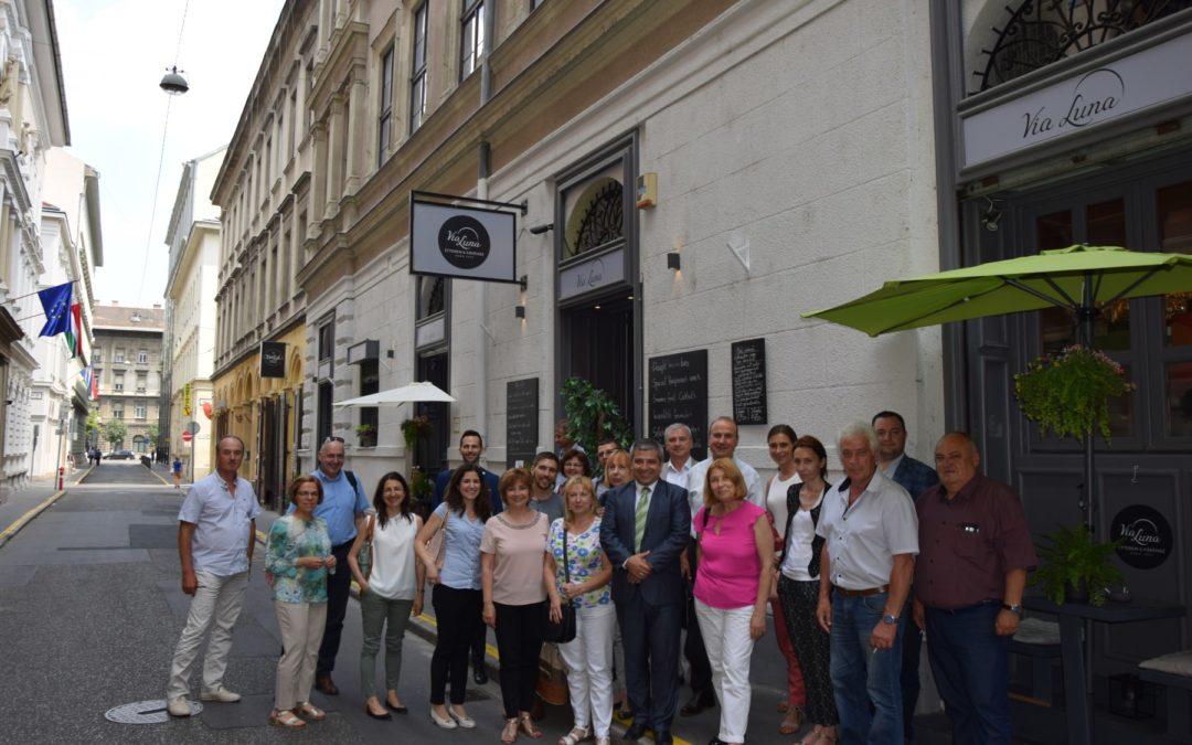 Работно посещение в унгарска асоциация по водоснабдяване
