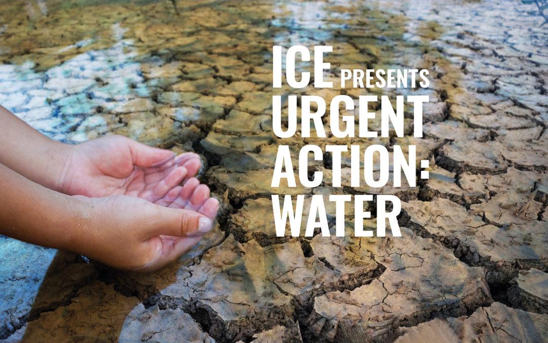 Urgent Action: Water