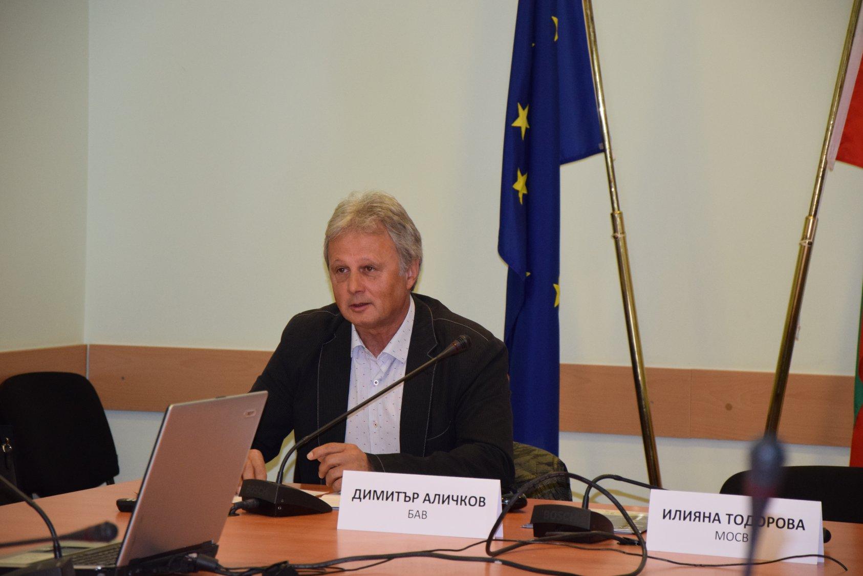 Интервю с проф. д-р инж. Димитър Аличков – председател на БАВ, относно дейността на БАВ